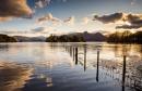 Derwent Water Sunset by martin.w