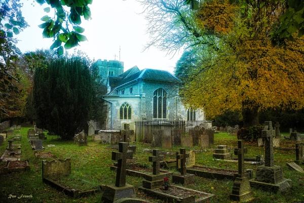 Droxford church by frenchie44