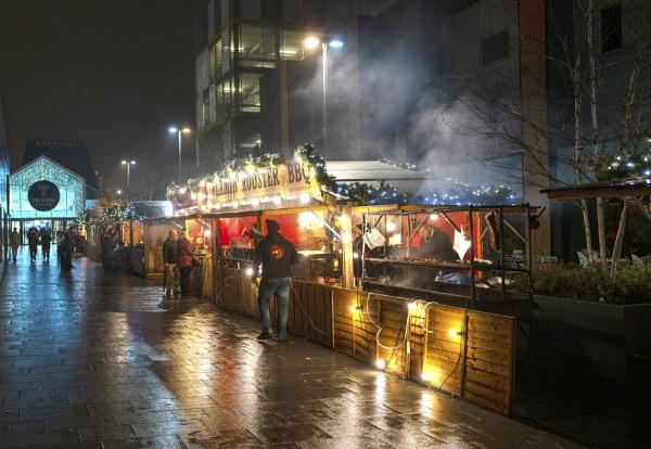 Xmas Market Telford by gbukwolfie