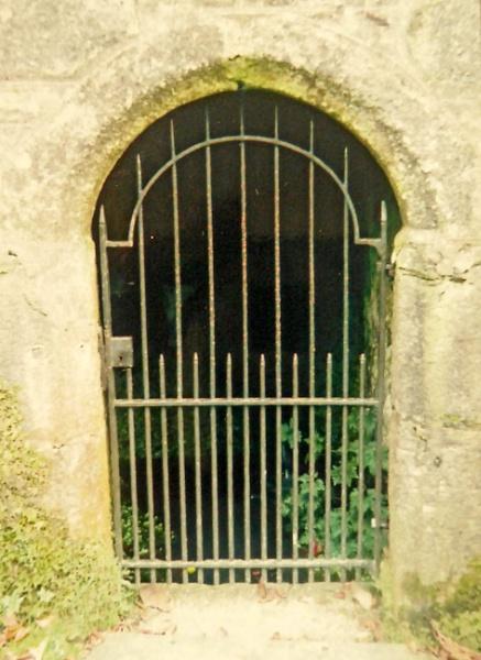 A Wrought  Iron Door. by Gypsyman