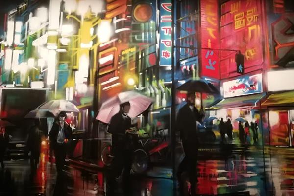 Dan Kitchener\'s urban art !! by Chinga