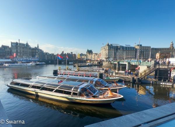 Canal Tour II, Amsterdam by Swarnadip