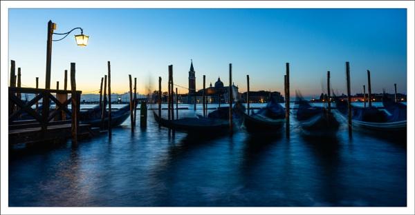 Gondolas at Dawn by DalesLass
