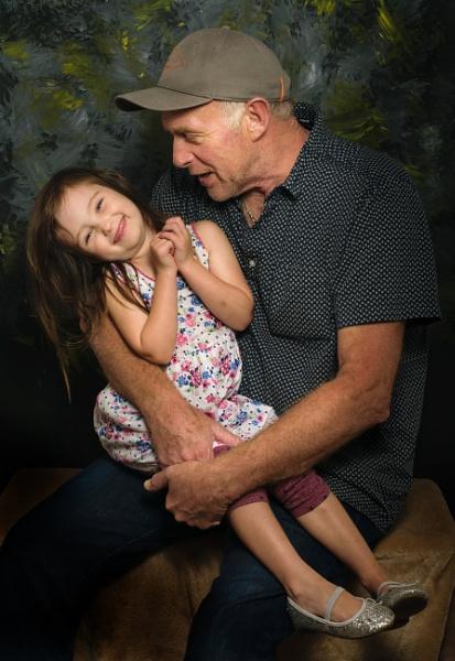 Grandad and granddaughter by PCarman