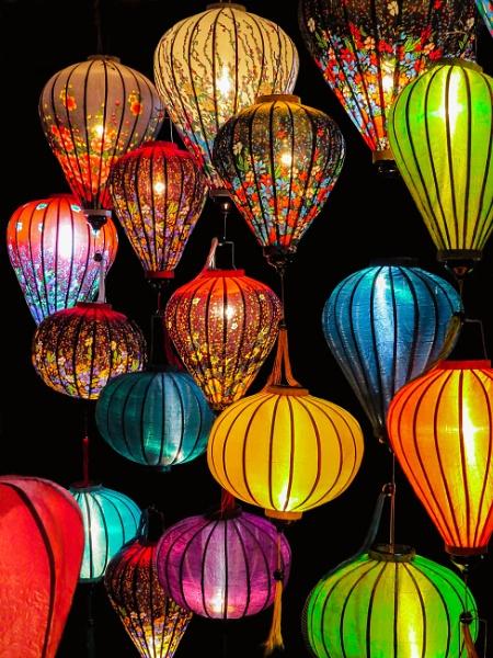 Lanterns in Hoi An by Prizm