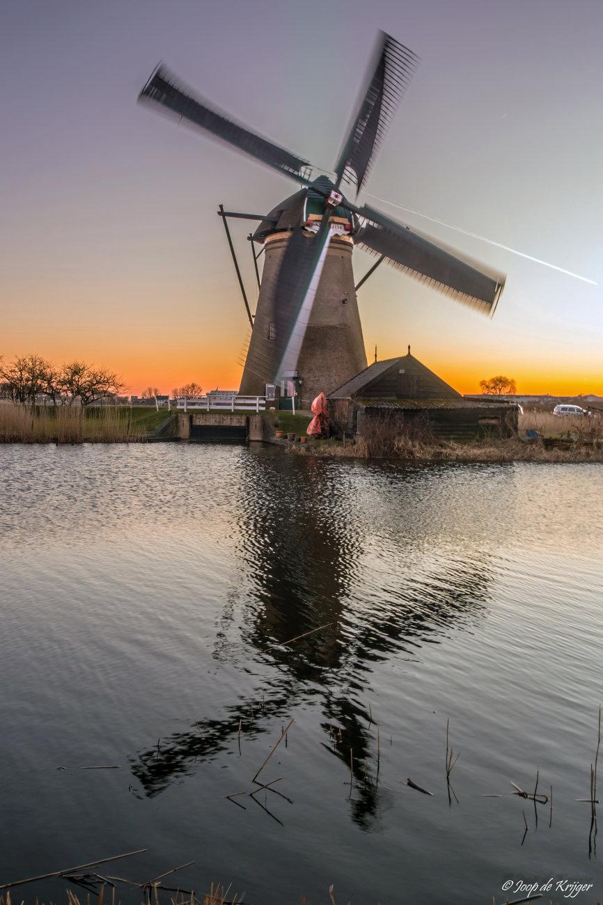 Mill at Kinderdijk