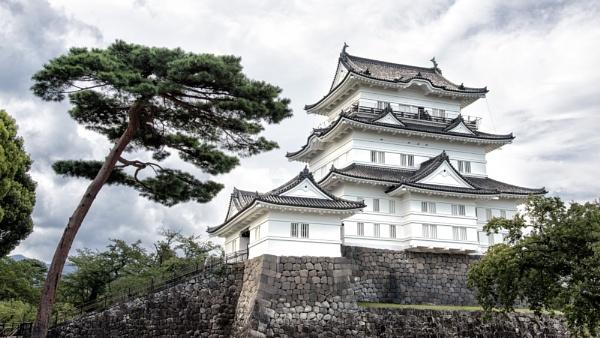 Odawara Castle by Arwille