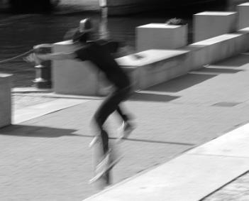 "~ ""Gumbie on a Skateboard"""