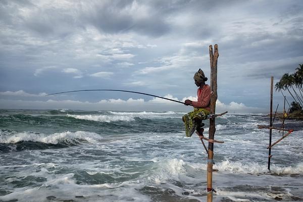 Seena / Koggala Fisherman by Buffalo_Tom