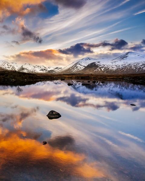 Rannoch Moor Sunset by Mark_Callander