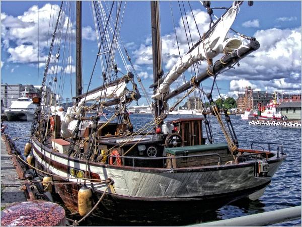 Seladon in Bergen Harbour (1) by PhilT2