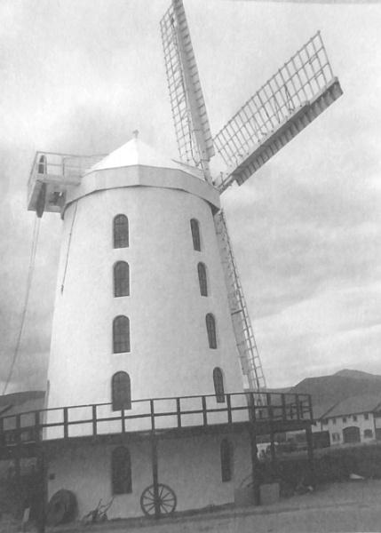 Windmill on Misty Morning. by Gypsyman