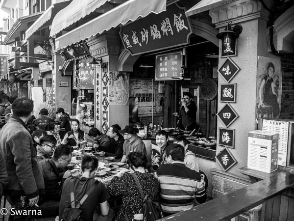 Somewhere in Kunming... by Swarnadip