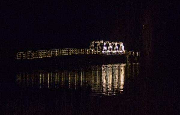 Liessaari bridge. by kuvailija