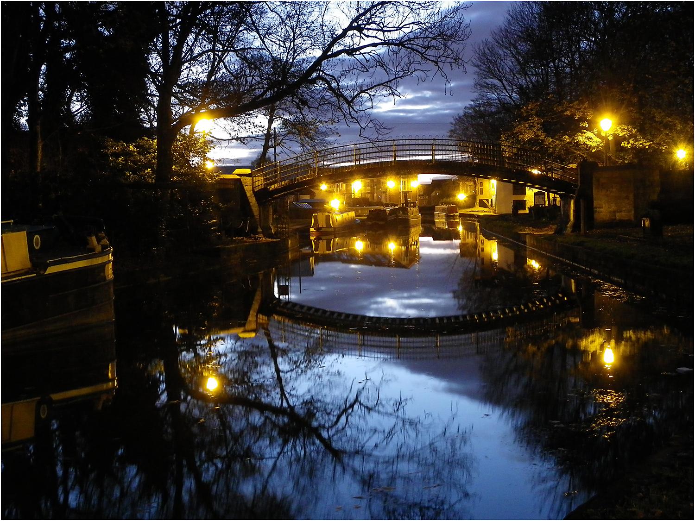 Dawn at Worsley