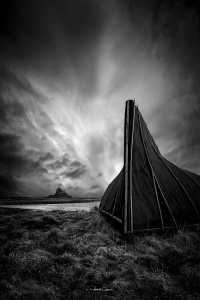 Holy Island Boat Hut by St1nkyPete