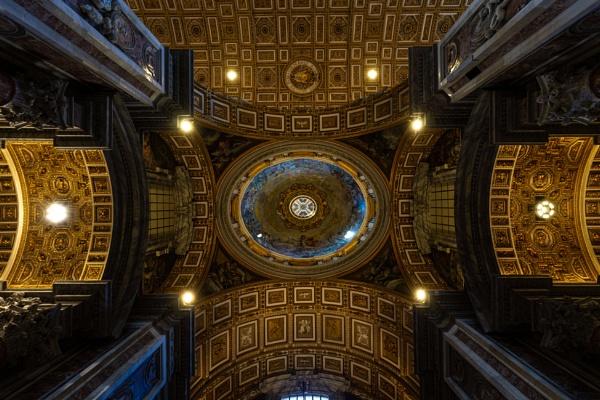 Ceiling on Saint Peter basilica