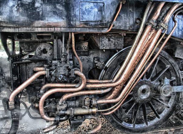 TRAINS PIPES by SOUL7