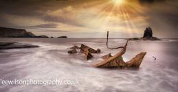 Salt wick high tide