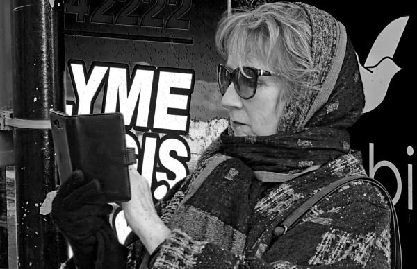 Lady In Lyme Regis by starckimages