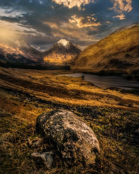 Lochan Urr, Glen Etive by Mark_Callander