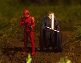 Kylo Ren and Sith Trooper