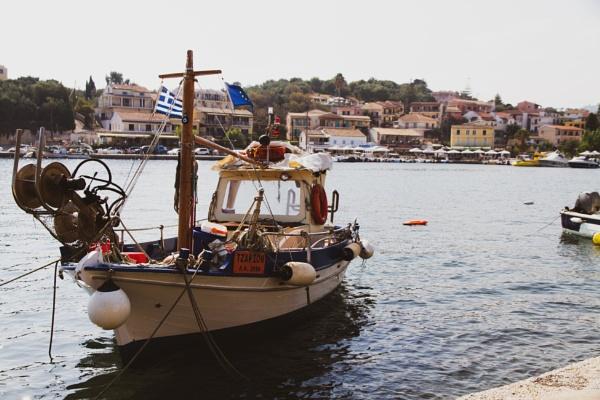 Corfu Harbour by JonnySP