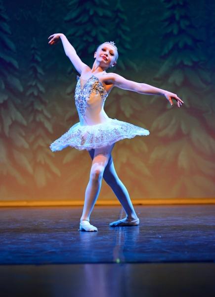 Teagan Marchuck as the Snow Queen in Creative Outlet\'s Nutcracker by DouglasMorley