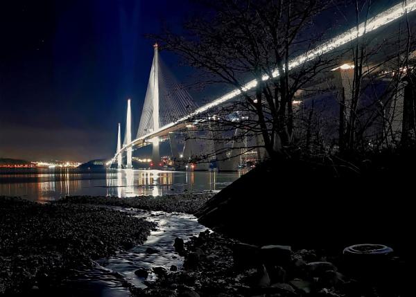 Bridge from Linn Mill Burn by photowanderer