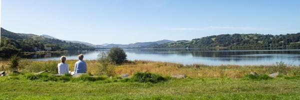 Peaceful scene at Bala Lake by cegidfa
