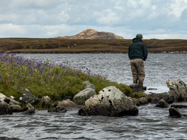 Loch Cavanagh North Uist by Pecheur