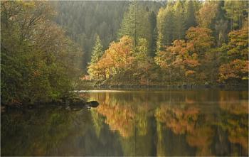 Loch Ard in Autumn