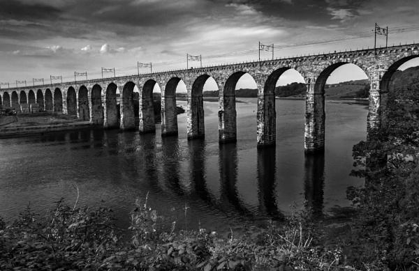 The Royal Border Bridge From Castlegait by flatfoot471