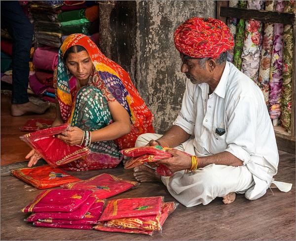 Sari Salesman by PhilScot