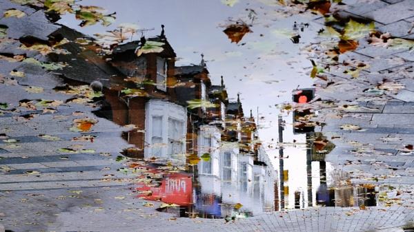 Reflective walk by marcsneddon