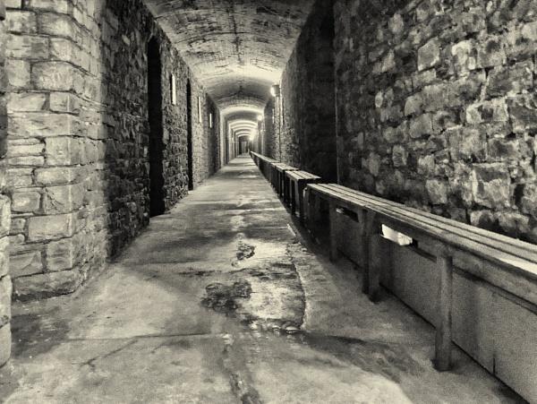 A second world war air raid shelter. by franken