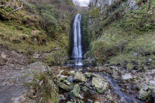 Glenevin Waterfall by peterellison