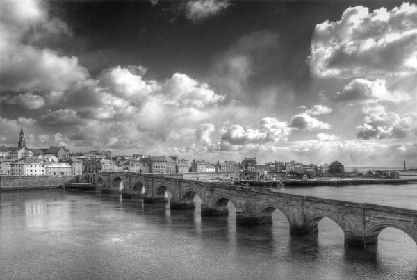 Old bridge Berwick Upon Tweed by maphotography