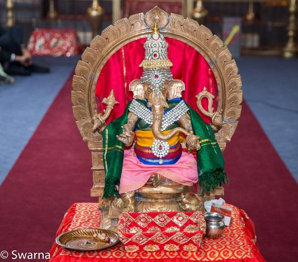 Lord Ganesha... by Swarnadip