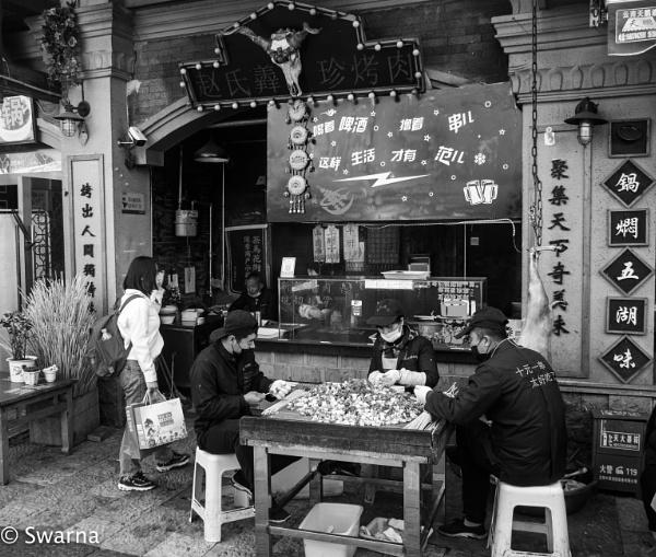 Somewhere in Kunming V by Swarnadip