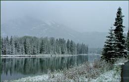Snow at Banff
