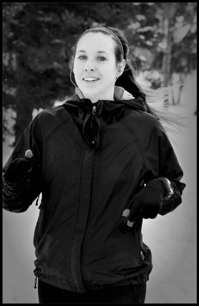 A run in winter by djh698