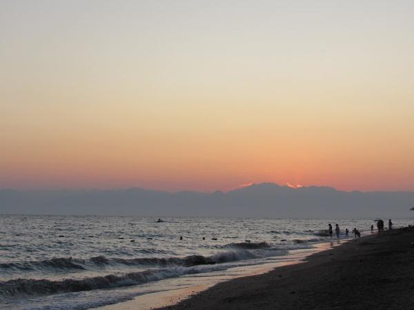 Turkish sunset by peony