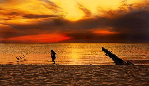 ..sunset... by mtuyb