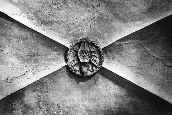 Ceiling of basilica San Pietro in Vincoli by rninov