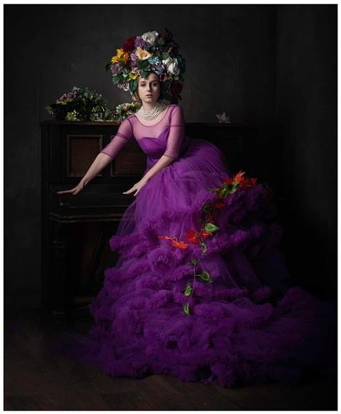 The Flower Girl by Richard_137