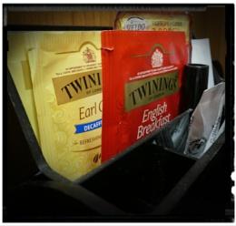 Photo : Hotel Coffee & Tea Tray