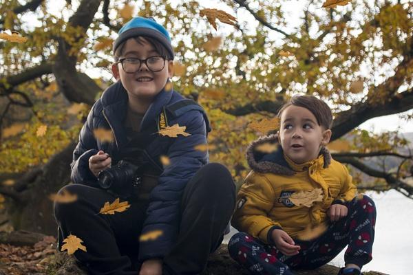 Autumn joy by elainecll