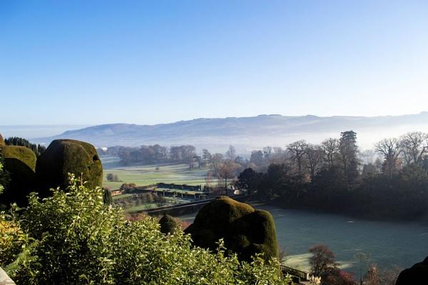 Mist in the Severn Valley by cegidfa