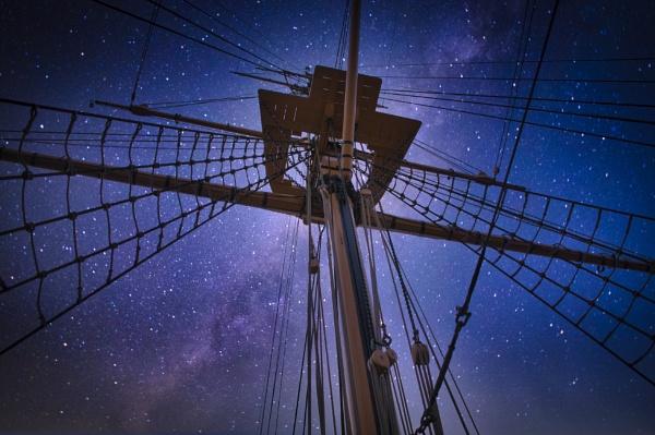 Night at Sea by BiffoClick